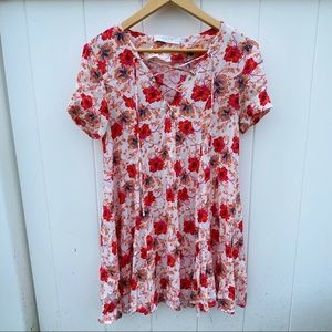 Astr the Label Floral Sundress, (XS)